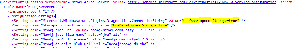 Edit the Storage Connection String