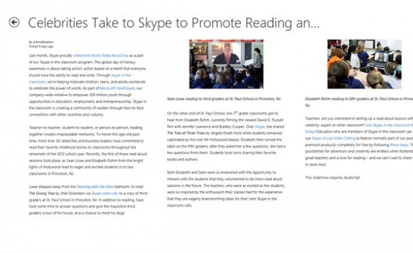 Check out the personal blogs of the Skype team and more!
