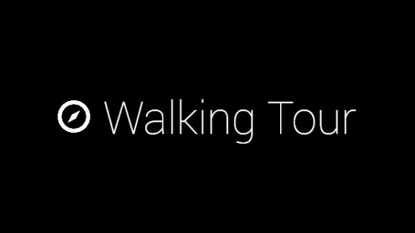 Google Glass Tour Guide Walking Tour