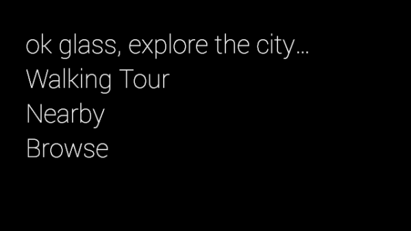 Launch Tour Guide by Voice